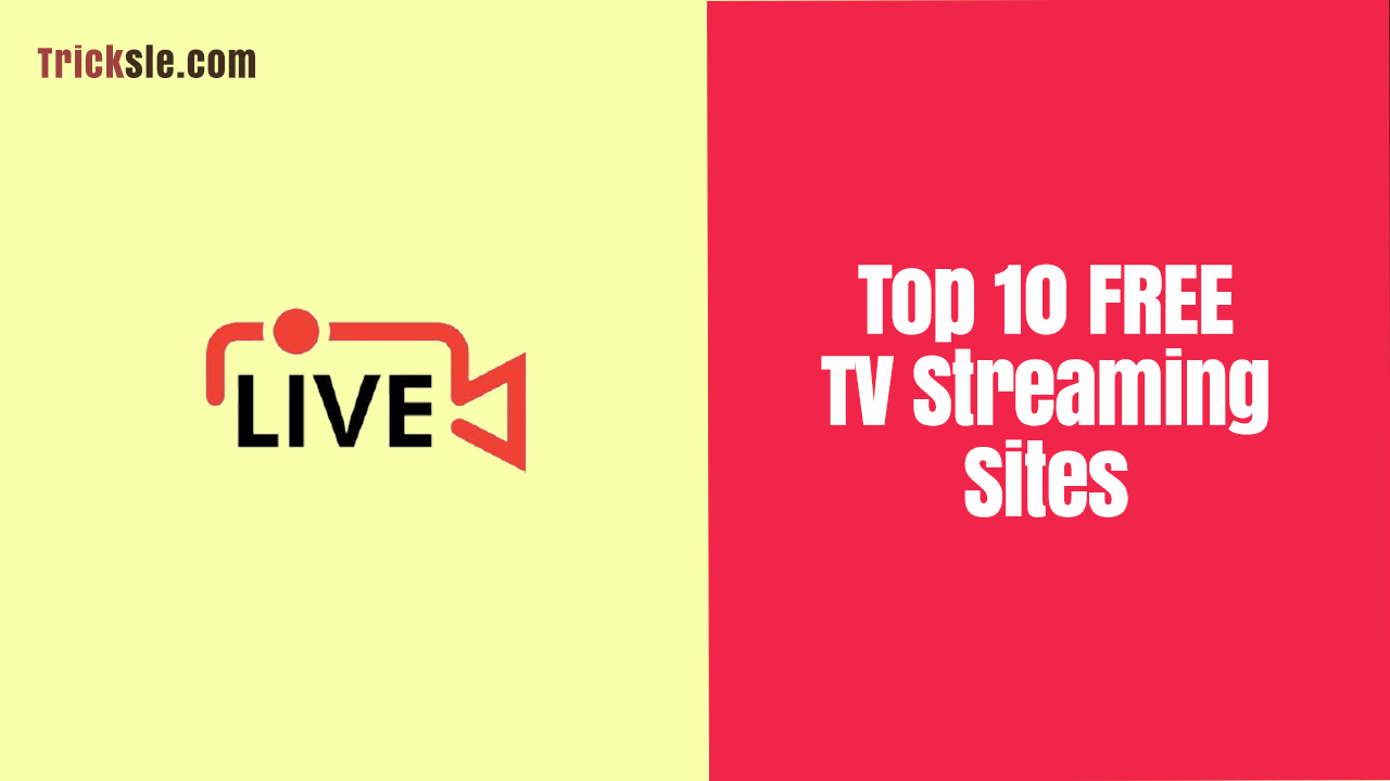 image of Top 10 FREE TV Streaming Sites
