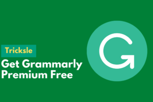 image of Get Grammarly Premium Free